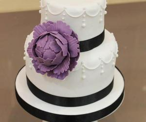 boda, pastel, and wedding cake image