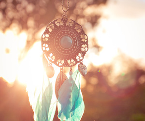 dreamcatcher, necklace, and photography image