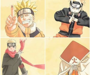 naruto, team 7, and hokage image