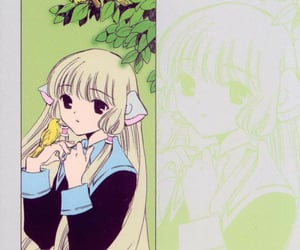 anime, chobits, and icon image