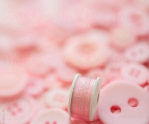 aesthetic, pink aesthetic, and buttons image