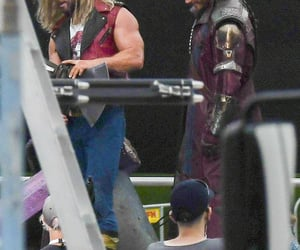 Avengers, thor, and starlord image
