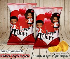 african american, etsy, and chips bag image