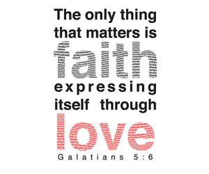 bible, typography, and love image