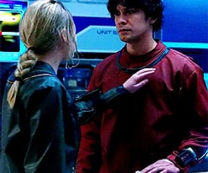 couple, gif, and clarke griffin image