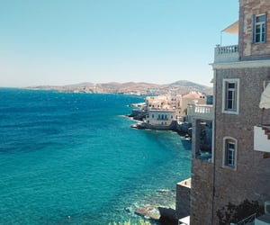 colorful, Greece, and sunny day image
