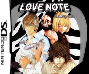anime, death note, and messy image