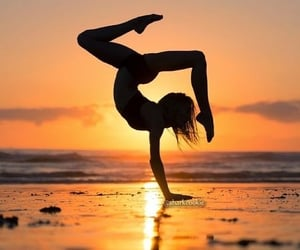relaxation, yoga, and happy life image