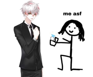 meme, MM, and mystic messenger image