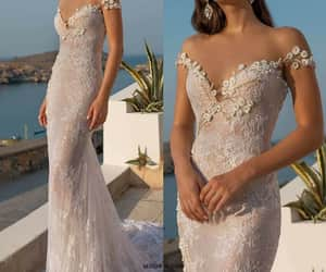belleza, novia, and vestido de novia image