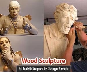 art, wood art, and sculpture image