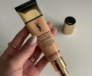 cosmetics, beauty, and Foundation image
