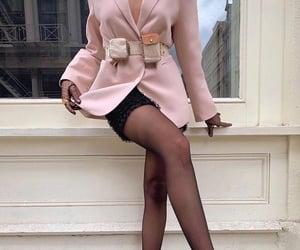 black, style, and blazer image