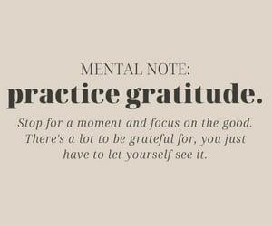 grateful, motivation, and personal development image