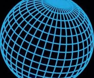globe, blue, and icon image