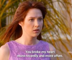 broken, heart broken, and sitcoms image