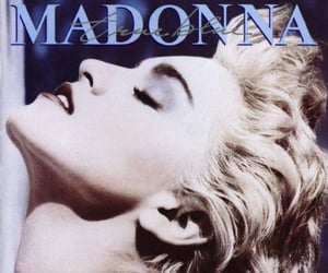 beauty, madonna, and music image