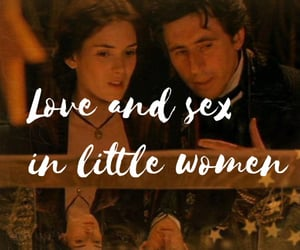 article, books, and little women image