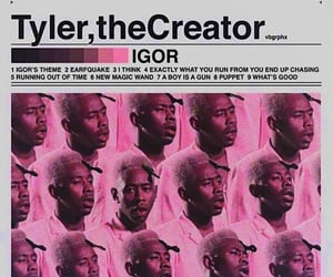 tyler, tyler the creator, and neon pink image