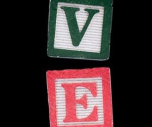 alphabet, child, and childhood image