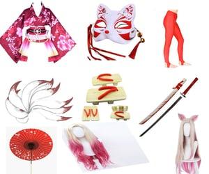 katana, mashup, and parasol image