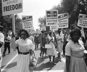 1940, history, and civil rights movement image