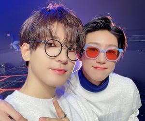 Seventeen, xu minghao, and wonwoo image