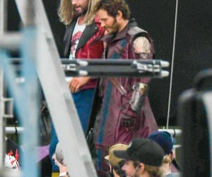 Marvel, thor, and peter quill image