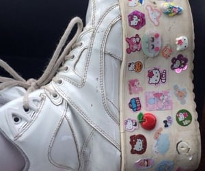 cute shoes, sanrio friends, and hello kitty image