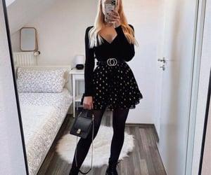 bag, blogger, and skirt image