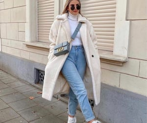 blogger, denim, and top image