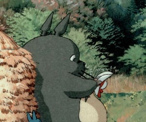 anime, studio ghibli, and mi vecino totoro image