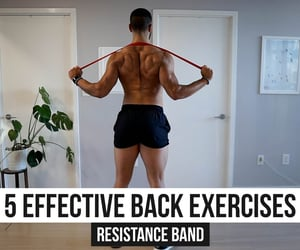back, fitness, and motivation image