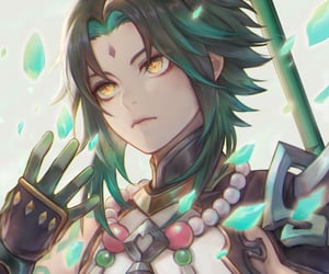 anime, fantasy, and xiao image