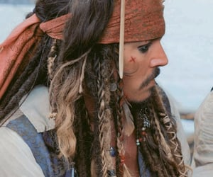 celebrities, jack sparrow, and johnny depp image