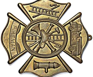 etsy, fireman gift, and cast brass image