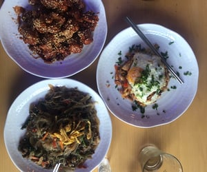 bogota, foods, and korea image