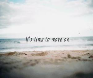 quote, sea, and time image