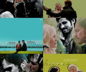 aesthetic, once upon a time, and otp image