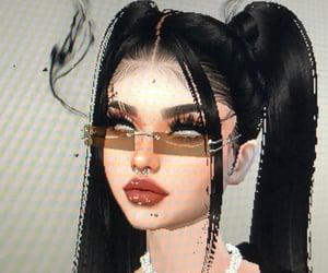 fashion, goth, and imvu image