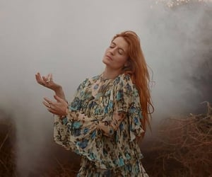aesthetic, florence welch, and vintage image