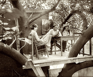 1920s, treehouse, and Krazy Kat image