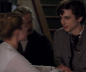 little women, timothee chalamet, and laurie laurence image