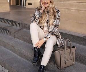 bag, blogger, and coat image
