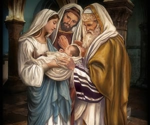 bible, catholicism, and Holy Family image
