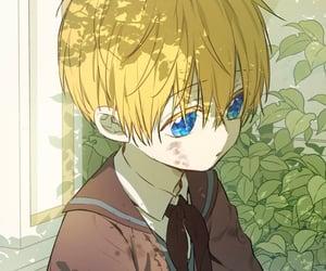 manga, who made me a princess, and anime boy image
