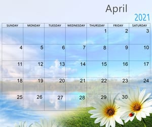 article and cute april 2021 image