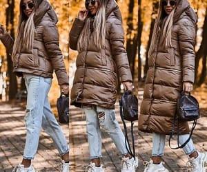 puffy jacket, parka jacket, and cargo jacket image