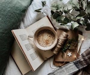 christmas, coffee, and mugs image