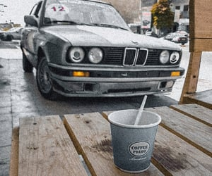 bmw, caffe, and morning image
